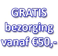 GRATIS verzending vanaf €50.00