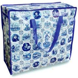 Holland Souvenirs Big Holland Shopper - Delfts Blauw