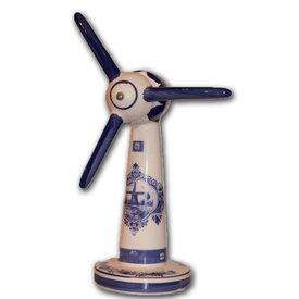 Holland Souvenirs Windturbine - Delfts Blauw