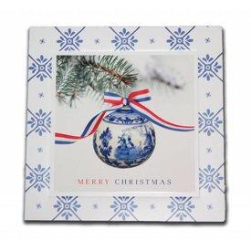 Kerstkaart in enveloppe
