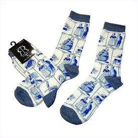 Robin Ruth Fashion Sokken- Delfts Blauw