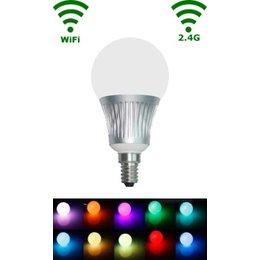 QUALEDY LED E14 Bulb - 5W - RGB/Warm wit