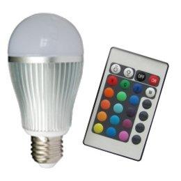 QUALEDY® LED E27-RGB-6W inclusief AB (RF)