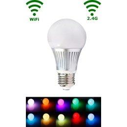 QUALEDY® LED E27 Bulb - 5W - RGB/Warm wit