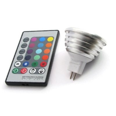 QUALEDY® LED GU5.3-Spot - RGB - 3W - incl. AB