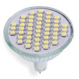 QUALEDY® LED GU5.3 Spot - 3W - 48SMD - 3000K