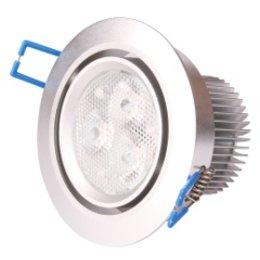 QUALEDY LED Set 2-Inbouwspots - 3*3W