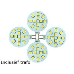 QUALEDY® LED Set van 4 G4 2,0W