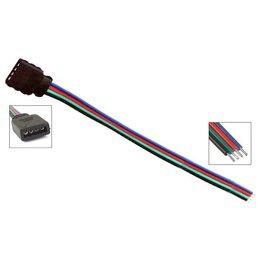 QUALEDY® LED RGB Strip Connector - 10cm