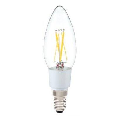 QUALEDY® LED E14-Filament kaarslamp - 3,5W