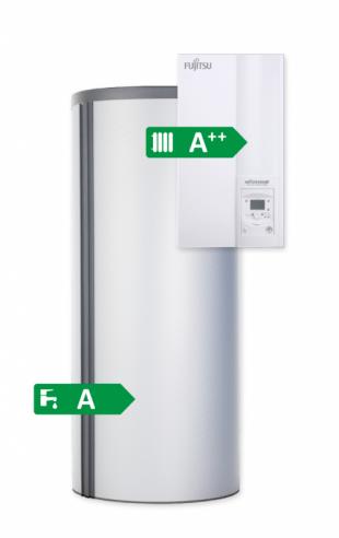 Fujitsu Waterstage Warmtepomp en Boiler