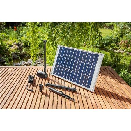 Esotec Solar | Vijverpomp | 20 Watt Zonnepaneel | 1350 l/uur