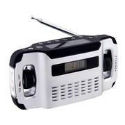 Powerplus Lynx | Radio | Opwindbaar | Solar | USB