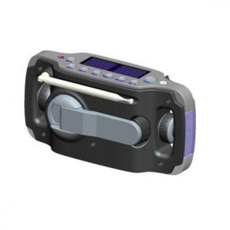 Powerplus Lynx Radio | Opwindbaar | Solar | USB
