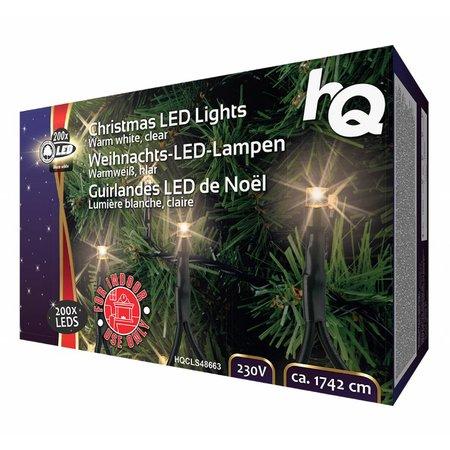 HQ LED Kerstverlichting 100-160-120 LEDs 9,42 tot 17,4 meter Warm-Wit voor Binnen