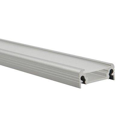 Kanlux LED Strip Profiel - Alu - Opbouw - 8mm - 1 meter