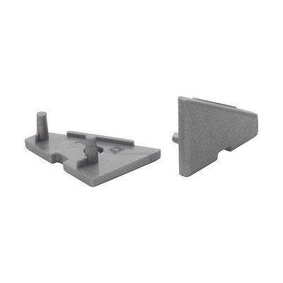 Kanlux LED Strip Profiel - Einddop - Hoek (2 stuks)