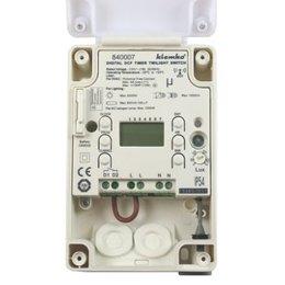 Kanlux LED Schemerschakelaar met tijdklok - 2000W - IP54