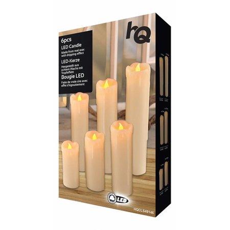 HQ LED Druipkaarsen 6 stuks