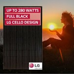 LG Solar LG280S1K-L4 Mono-x2 40mm ALL Black