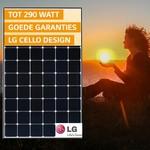 LG zonnepanelen met hoog vermogen LG285S1C-L4