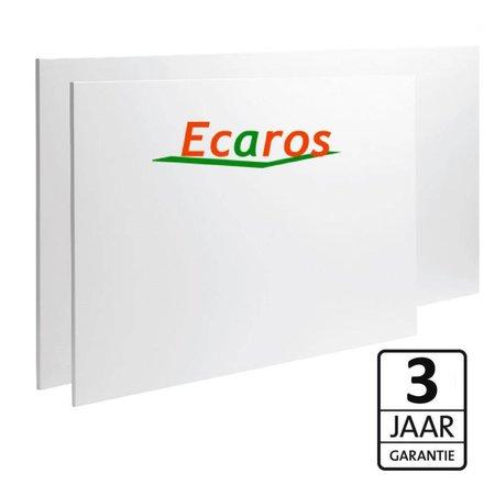 Ecaros  Frameless infrarood glas panelen met 3 jaar Garantie