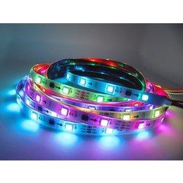 QUALEDY Digitale LED RGB Strip - 7,2W/m - 5m