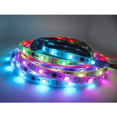 QUALEDY Digitale LED RGB Strip - 7,2W/m - 5m