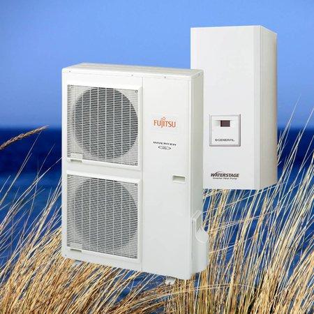 Fujitsu Waterstage Warmtepomp HT 3 fase WH11F