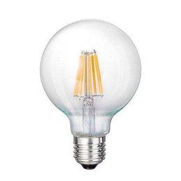 QUALEDY® LED E27 G125-Filament lamp - 7W
