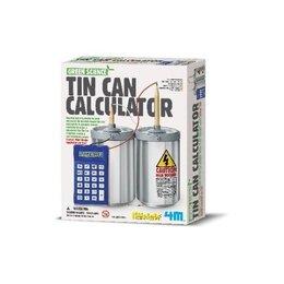 4M Maak zelf stroom voor je rekenmachine