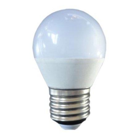 QUALEDY® LED E27-G45-Bulb - 3W - 10-30VDC - 3000K - 240Lm - Dimbaar