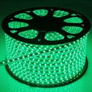 QUALEDY LED Strip 230V - Groen - 14,4W/m - 60xSMD5050/m - 50m - IP66