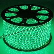 QUALEDY® LED Strip 230V - Groen - 14,4W/m SMD5050