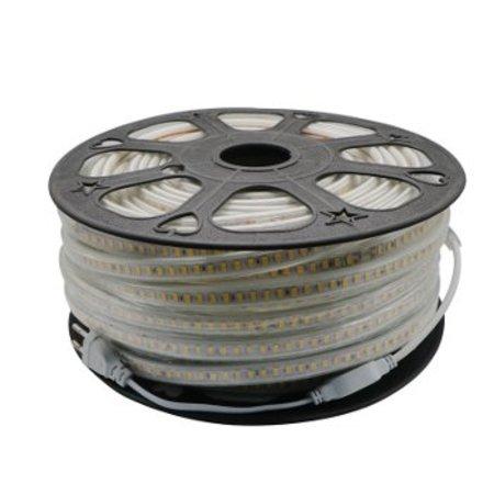QUALEDY LED Strip 230V - Wit - 14,4W/m - 4000K - 60xSMD5050/m - 1m - IP66