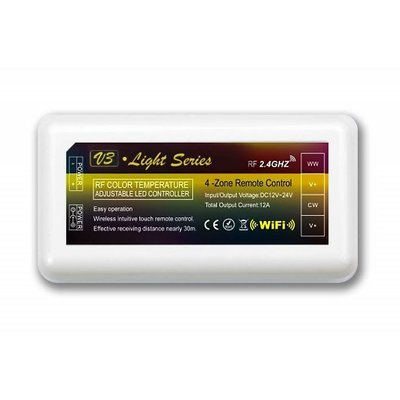 Mi-Light Mi-Light - Dual White LED Strip Controller - CCT - 12-24V