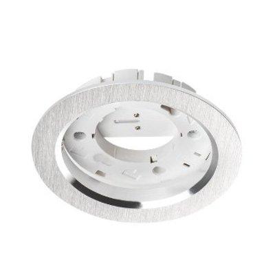 Kanlux Armatuur GX53 - rond/vierkant - RVS Look- 75mm