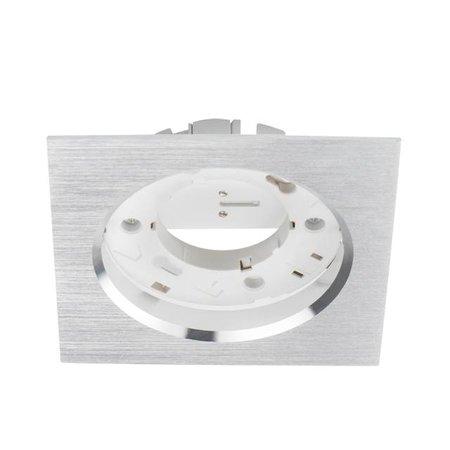 Kanlux Armatuur GX53 - rond/vierkant - RVS Look - geschikt voor 75mm GX53 spot