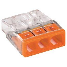 Wago Lasklem 3x0,5-2,5 - Oranje
