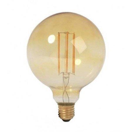 QUALEDY® LED E27-Filament lamp - 6W - 2400K - 700Lm - Retro/Goud - G95