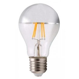 QUALEDY® LED E27-Filament Spiegellamp - 6W - 660Lm