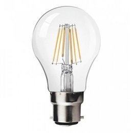 QUALEDY® LED B22-Filament lamp - 8W - 2700K