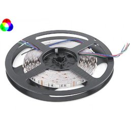 QUALEDY® LED Strip - RGB - SMD5050 - 7,2W/m - 5m + DC12V - IP20