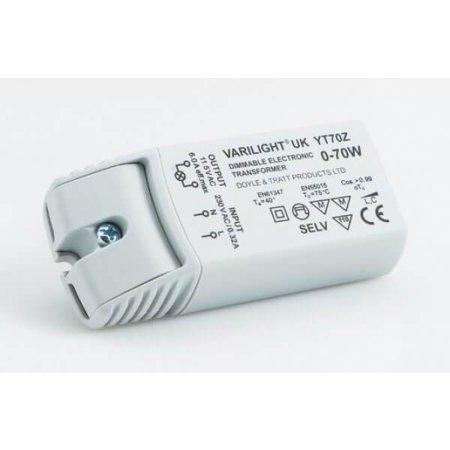 QUALEDY® LED Trafo 0-35Watt (halogeen 70Watt) - 6A - Dimbaar