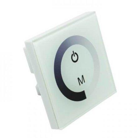 QUALEDY® LED Touch Panel Inbouwdimmer - 12V(<96W) ~ 24V(192W) - 8A