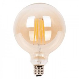 QUALEDY® LED E27-G125-Filament lamp - 7W