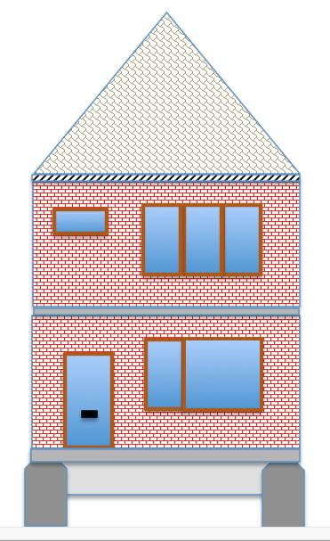 Eenvoudig woonhuis