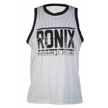 Ronix Ronix Ronix 812 Backseat Riding Jersey - Tank Top - White/ Black