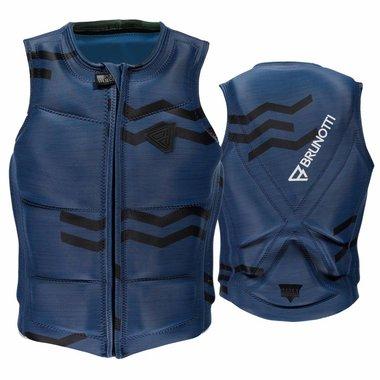 Brunotti 2017 Brunotti Zigzag Wakevest FZ Men Technical Vest | Blue