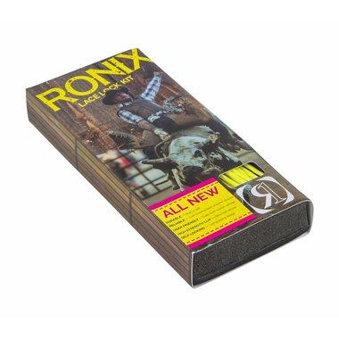 Ronix 2017 Ronix Lace Lock Kit - Yellow (set of 4 laces and lace locks)